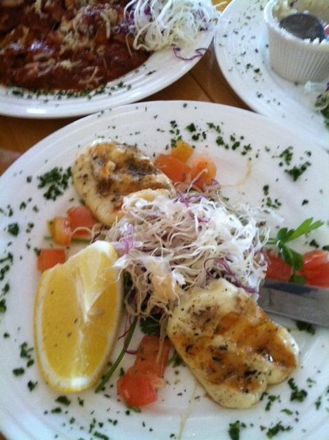 Grilled Haloumi (Greek Taverna)